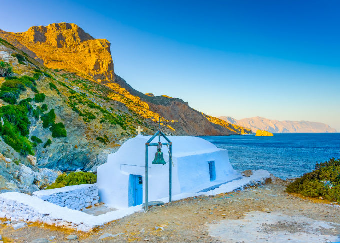 Private charter from Amorgos to Eleftherios Venizelos Intl